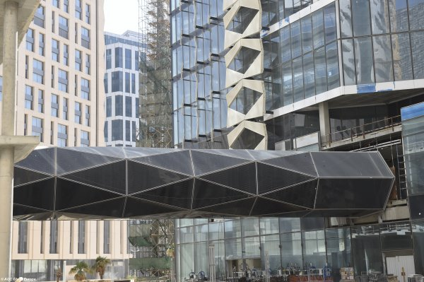 KAFD - King Abdullah Financial District – The Skywalks