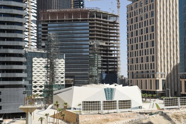 KAFD - King Abdullah Financial District – Parcel 1.12