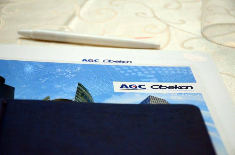 """""""AGC Obeikan: Glazing the Future"""" seminar in Amman"""