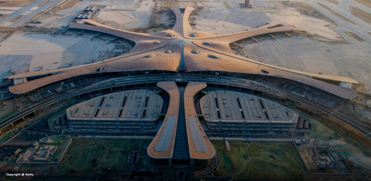 Bejing Airport - Incredible design by Zaha Hadid